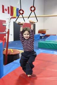 Bars/rings for little ones!